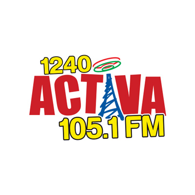 Activa 105.1FM 1240AM Official Logo