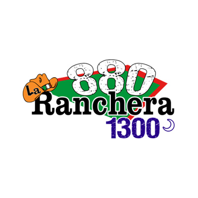 La Ranchera 880AM 1300AM Official Logo